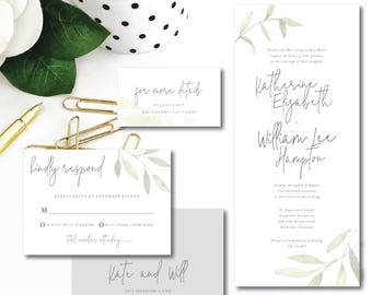 Under the Arbor Wedding Invitations