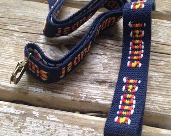 vintage jeans suspenders with metal clasps adjustable