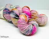 Sadie Soft Single Ply, Hand dyed yarn, Superwash merino wool, 400 yds/ 100g: Ode to Virginia (Poe Collection).