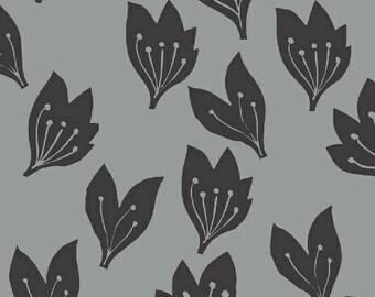 Lemmikki by Lotta Jansdotter for Windham Fabrics - 43088-7 - Iron - 1/2 Yard Cotton Quilt Fabric