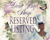 For Sandy - Balance For Reserved Listing - 10 Commandments Angel