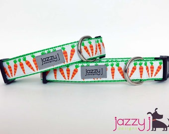 Baby Carrot Rabbit Easter Dog Collar