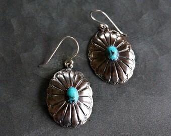 Abeytu 925 Silver Earrings Turquoise Earrings Boho Earrings Bohemian Jewelry