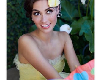 Dole Whip Inspired Fascinator