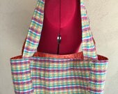 Medium Market Tote Bag, Lined and Reversible Shopping Bag, Find-A-Flaw Sale