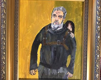 Hodor portrait painting