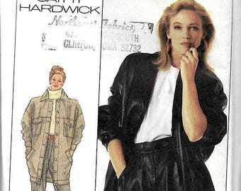ON SALE Simplicity 8382 Cathy Hardwick Pants, Skirt And Oversized Unlined Jacket Pattern, 6-8-10, UNCUT