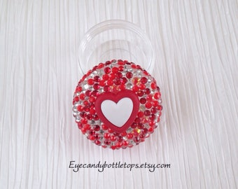 Red Heart Mini Container
