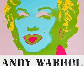 Andy Warhol-Marilyn Monroe-1983 Serigraph