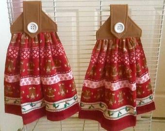 Christmas Hanging Dish Towel