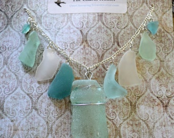 Sea Glass, Sea Glass Jewelry, Sea Glass Necklace, Sea Glass Art, Sea Glass Bracelet, Sea Glass Pendant, Stained Glass, Glass, Glass Pendant