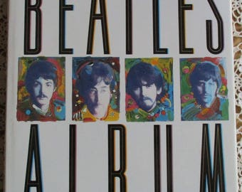Vintage Music Book - The Beatles Album, Geoffrey Giuliano, Stewart House 1991, 30 Years of Music and Memorabilia, Father's Day