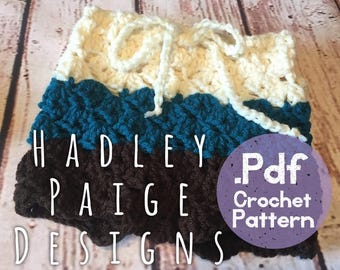 baby LOXLEY Boho Beach Shorts Crochet Pattern - by Hadley Paige Designs. Summer wear. 18-24 months