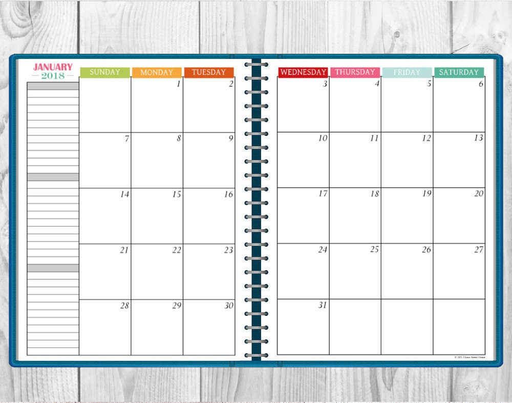 multi month calendar