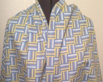 BUY the BOLT SALE--4+ yards--Wishing Well--Ladder Stripe--Jenean Morrison--Blue