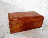 Custom Ordered Wooden Keepsake Box