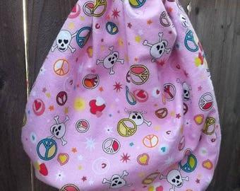 Skull Backpack Set of 5 Glitter Pink Camo Clearance Assortment