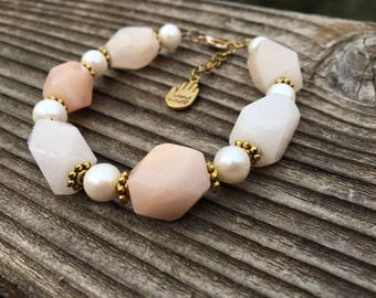 SALE! Rose & Pearls Bracelet