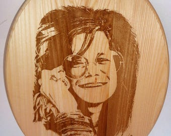 SALE / LIMITED TIME Handmade wood burned plaque / Art
