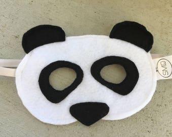 Penny the Panda Mask - Bear, Zoo Animal, Roar, China, Costume, Halloween, Christmas Gift, Party Favor, Panda Party, Monochrome, Dress Up