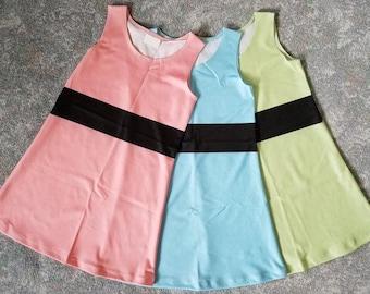 Powerpuff Girls-Inspired Costume Cosplay Dress (Kids Sizes)