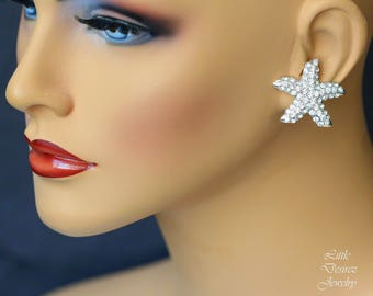 Bridal Starfish Stud Earrings, Starfish Wedding Earrings, Beach Wedding, Starfish Earrings, Destination Wedding Jewelry Starfish Jewelry KAI