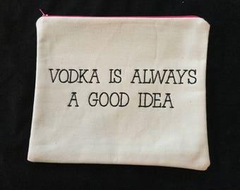 Vodka Saying Pouch