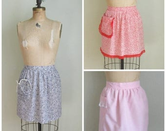 Summer Clearout Vintage Mid Century Aprons
