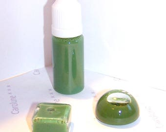 10 ml bottle of liquid glass to fill OPAQUE KHAKI