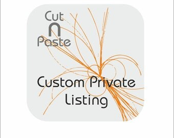 Custom private listing for Ruth - vinyl wall decals