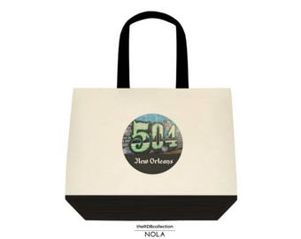 New Orleans 504 Tote