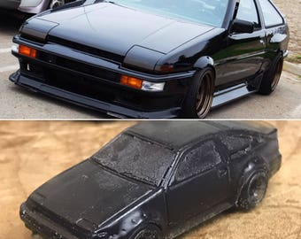 Toyota AE86 Soaps   4 Pack