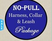 Sale - 40% Off No-Pull Harness, Collar & Leash Set