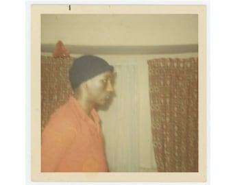 Vintage Photo Snapshot: Profile, c1970s (76588)
