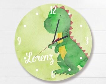 Wall Clock Dinosaur by name