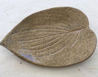 Ceramic Leaf Soap Dish