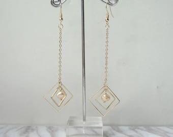 Regalite  Asymmetric Earrings Restoring Ancient Ways, Stackable Earrings, Charm Earrings 0476