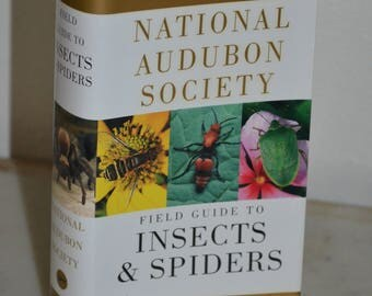 Vintage Book: National Audubon Society Field Guide to Insects and Spiders