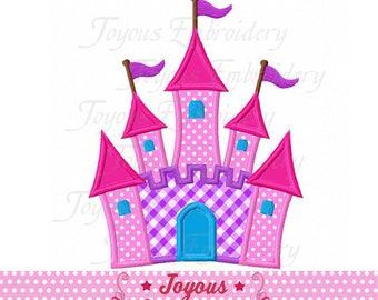 Instant Download Castle Applique Machine Embroidery Design NO:2346