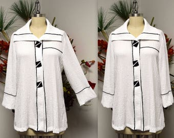 Dare2bstylish Designer Jacket, Artsy Jacket,  High end Jacket, Regular and Plus size jacket in Premium textured Fabric.S to 3XL.