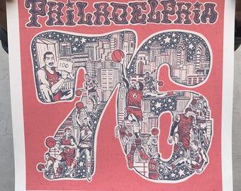 "FREE SHIPPING -- 76 -- Paul Carpenter Art -- 16x16"" Open Edition Gilcee Print"