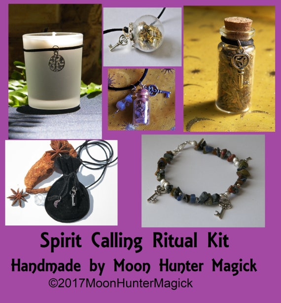 Spirit Guides Combo Kit Necromancy Ouija Ritual Faery Magick Nature Spirit Divination Ritual Kit