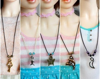 New charms/ Necklace for msd/minifee/Different styles