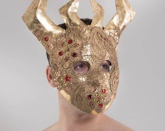 TORO! - Gold Lace Bull Mask