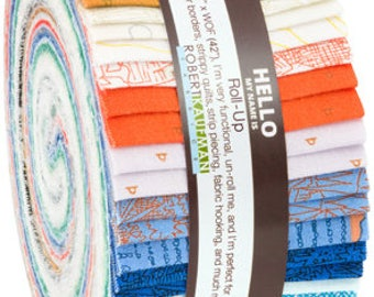 "Friedlander Roll Up by Carolyn Friedlander- (40) 2.5''x 44"" strips for quilting"