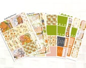 Hello Autumn Sticker Kit for Happy Planner, Autumn Stickers