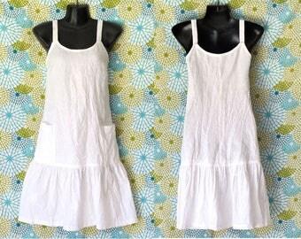 Women's Linen Sundress, Summer dress, White linen dress, Sundress, Linen clothing, Beach dress, Black Linen dress, Embroidery, Resort dress