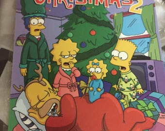 The Simpsons Christmas2 Marquee poster