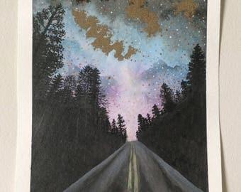 Cosmic Roadside Landscape