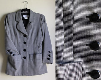 YSL 1990s Blazer with 1930s Style Embellishments ||| Size Medium ||| Yves St. Laurent
